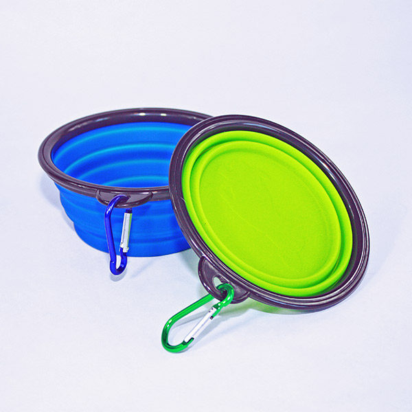 Collapsible Food and Water Bowls