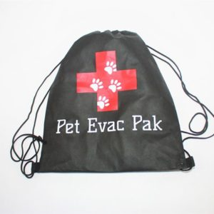 Pet Evac Pak Cinch Bag