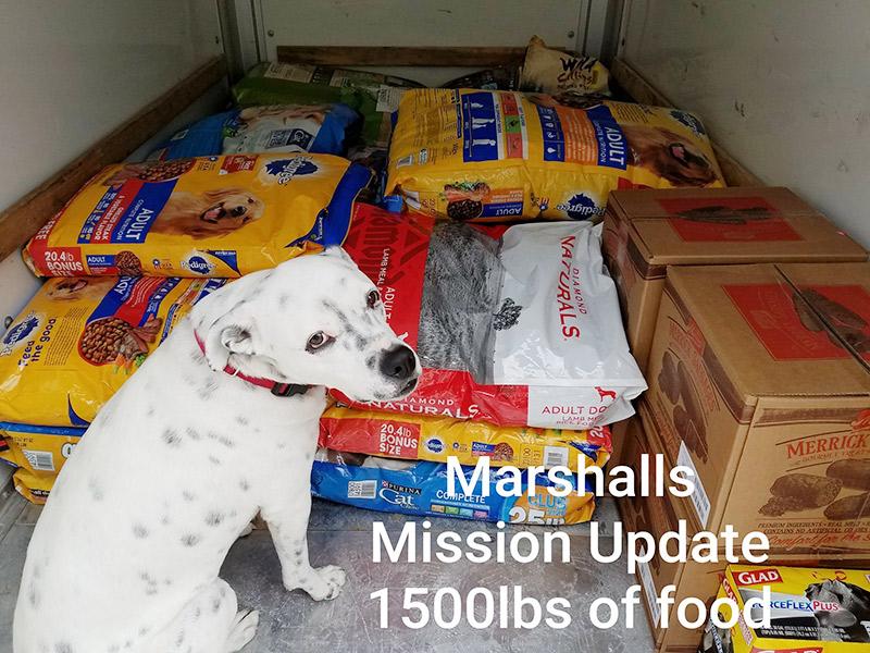 Marshall's Mission Hurricane Harvey Relief