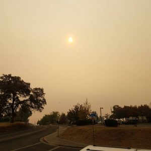 Camp Fire in Paradise, CA